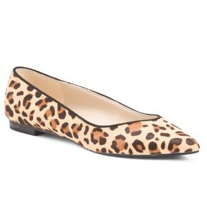 Marc Fisher leopard flats